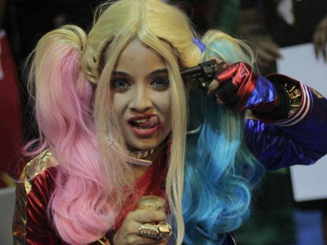 Harley Quinn,Joker,Halloween