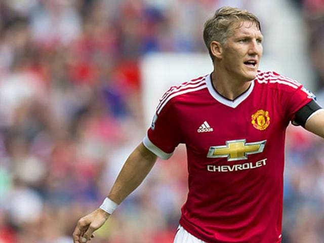MBastian Schweinsteiger has been left to train with Manchester United's reserves or hit the weights on his own in the gym.(AP)