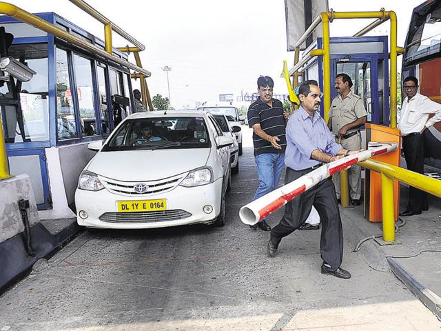 Noida residents have protested several times against the payment of toll for using the flyway.