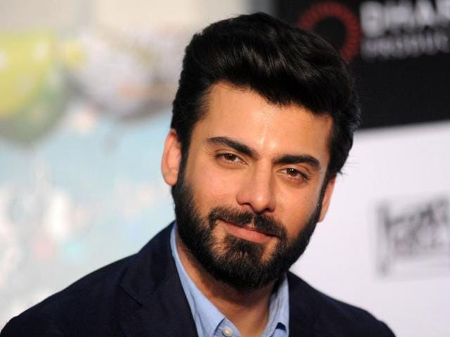 (FILES) This file photo taken on March 25, 2016 shows Pakistan actor Fawad Afzal Khan at a press conference for Hindi film 'Kapoor & Sons' in Mumbai.