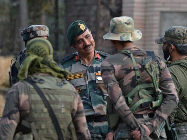 President Pranab Mukherjee inaugurates a unit of Indian Army in Murshidabad, West Bengal(PTI)
