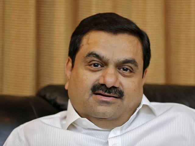 Indian billionaire Gautam Adani speaks during an interview with Reuters at his office in the western Indian city of Ahmedabad in this April 2, 2014 file photo.