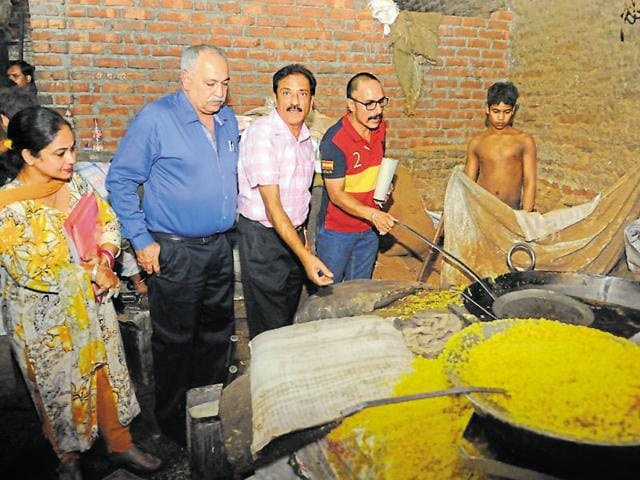 A health team had visited the Gupta Sweets manufacturing unit on October 20. The report arrived within a record time of four days at the health department office in Jalandhar on Monday evening.