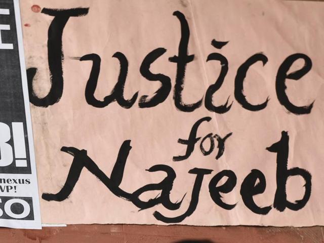 Missing JNU student,Najeeb Ahmad,ABVP