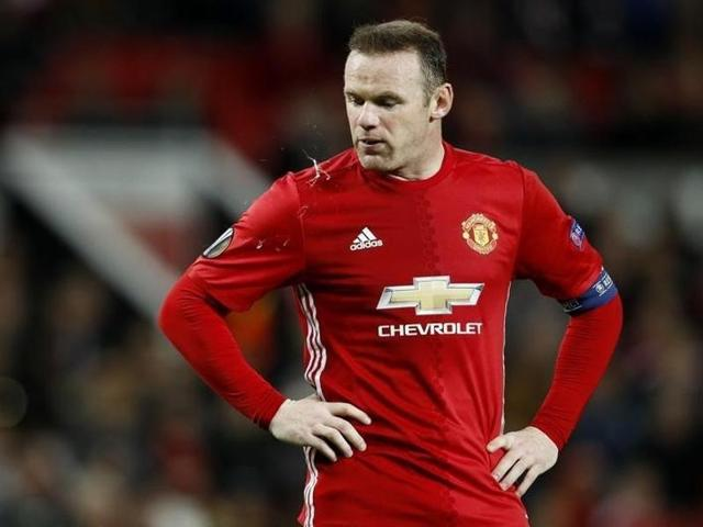 Manchester United's Wayne Rooney during their match against Fenerbache.