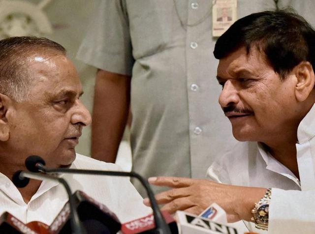 The ugly power struggle in the family was sparked by Shivpal's elevation as the state SP president replacing Akhilesh last month and has threatened to derail the ruling party's prospects in the assembly polls due early next year.