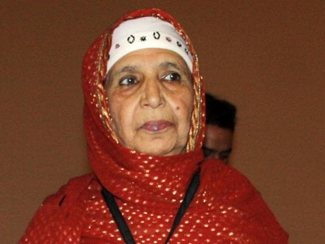 (File) Raj Begum is often called the Nightingale of Kashmir.
