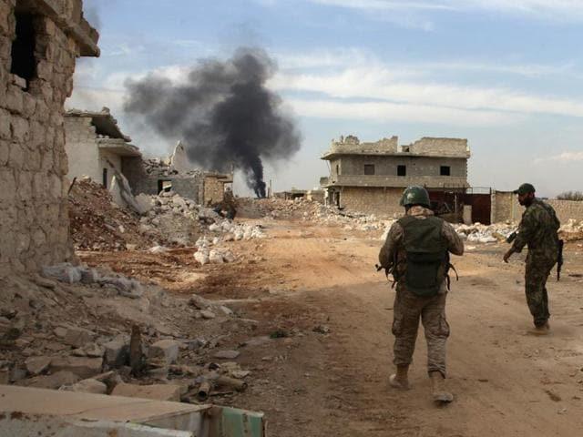 Turkey,Syria,Opposition fighters