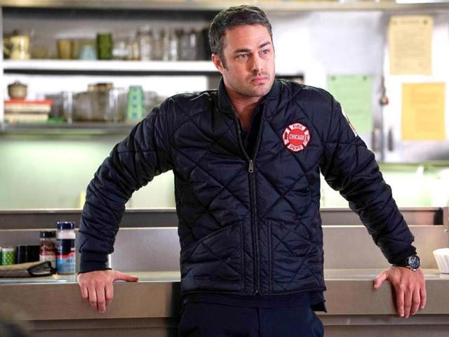 Taylor Kinney moves on...