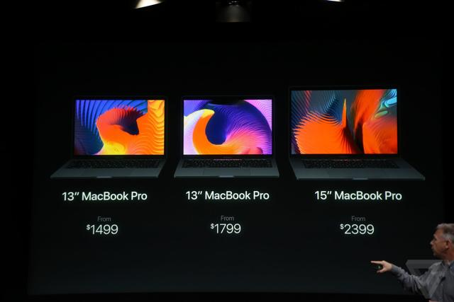 As it happened: Apple's MacBook Pro with Touch Bar to cost