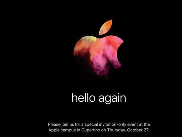 The Apple MacBook launch event comes as no shock especially when Apple during its September 7 event didn't disclose any MacBook related information even after speculations that the Cupertino-headquartered company would launch its flagship personal computers as well