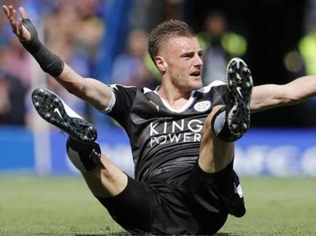Jamie Vardy has endured a run of 23 matches without a goal, which has been his worst scoring drought.