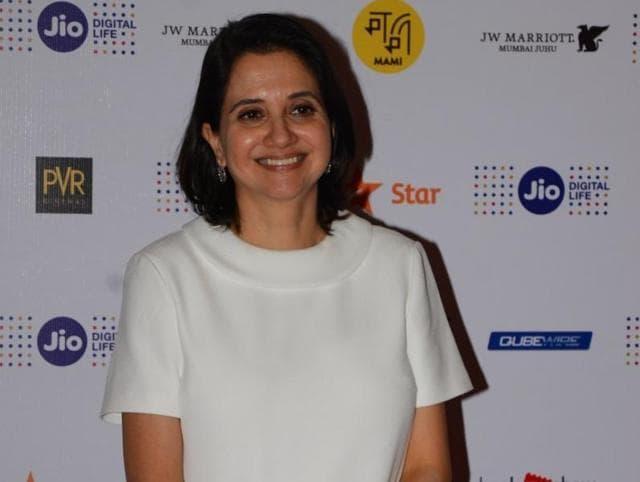 Film critic Anupama Chopra attends the Jio MAMI Mumbai Film Festival.
