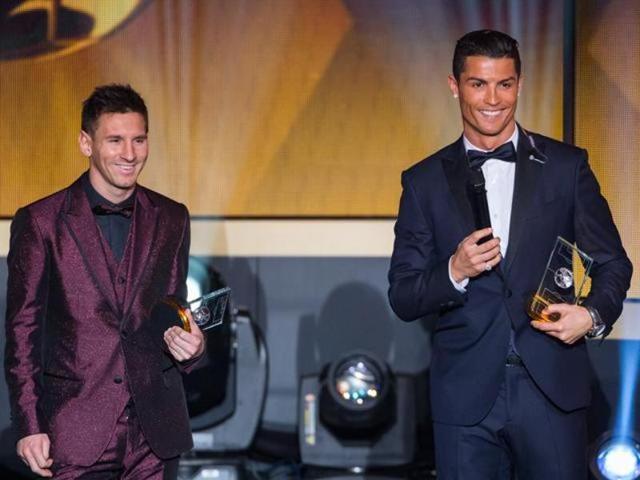 Ronaldo,Messi,Football