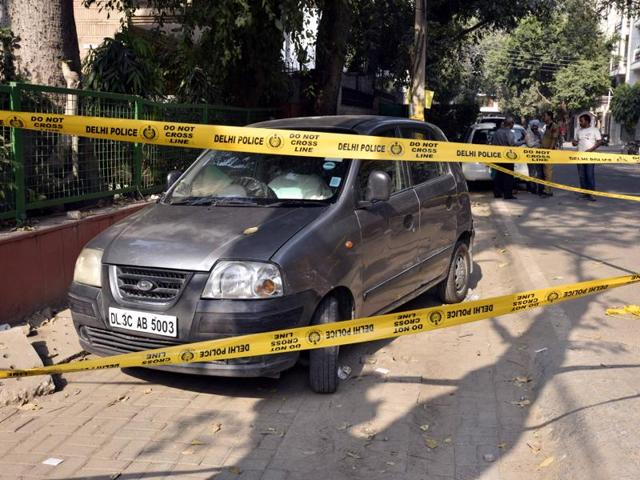 A 60-year-old man stabbed his wife to death in a car in south Delhi's Anand Niketan.