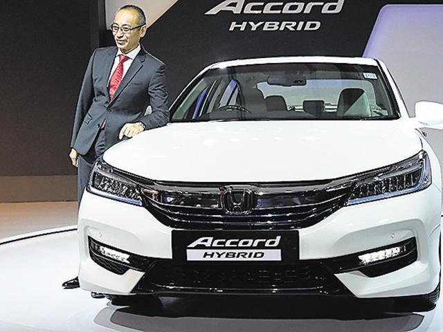 Honda Carsybrid Accord SedanYoichiro Ueno