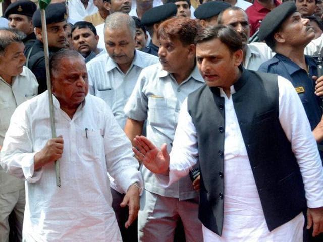 Samajwadi Party rift,Akhilesh Yadav,Akhilesh-Shivpal rift