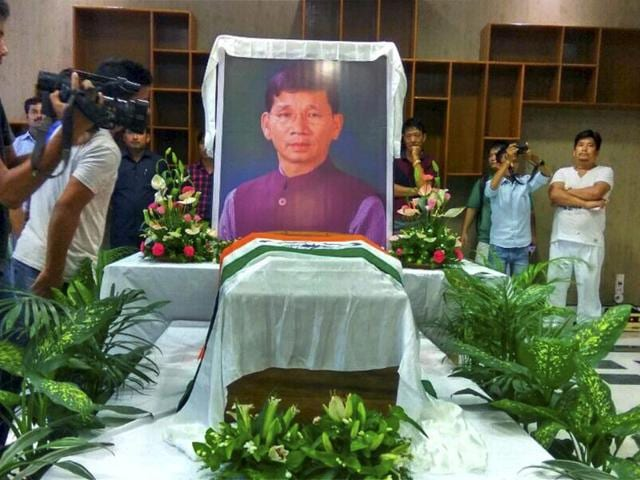 Former chief minister of Arunachal Pradesh Kalikho Pulon was found hanging at his official residence in Itanagar on August 9.