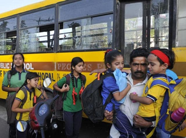 The school bus owners association (SBOA) announced that they took this decision as the government is not granting them exemption from toll tax, which they have been demanding since last year