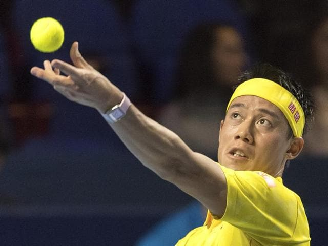 Nishikori played the 2011 Basel final, losing to hometown favourite Roger Federer.