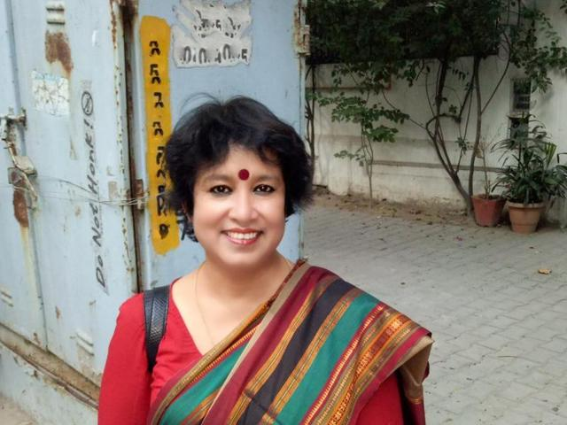Taslima Nasrin,Bangladeshi Author,Exiled author