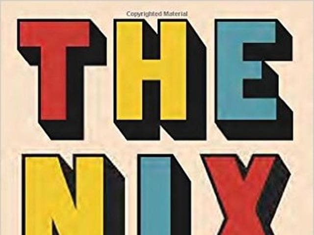 The cover of the book, The Nix, by Nathan Hill