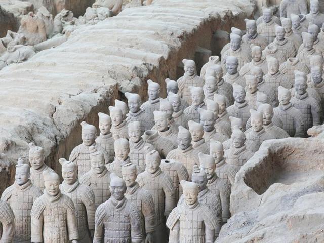 Greek influence,China's terracotta warriors,Greek sulpture