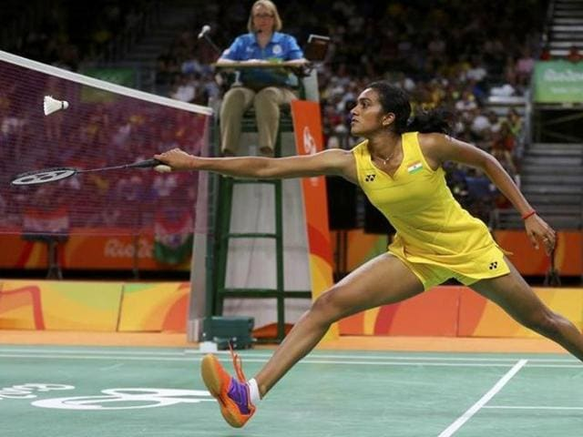 P V Sindhu suffered another second round defeat when she went down fighting against He Bingjiao of China