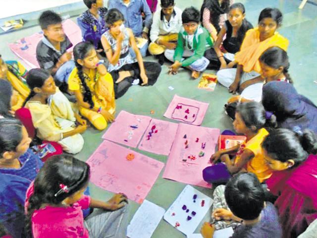 Bhopal,Nanhe Lekhak,underprivileged children turn storytellers