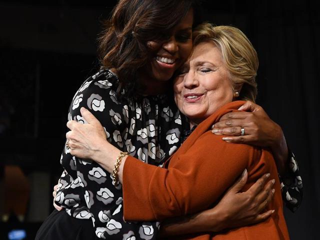 Hillary Clinton,Michelle Obama,Donald Trump