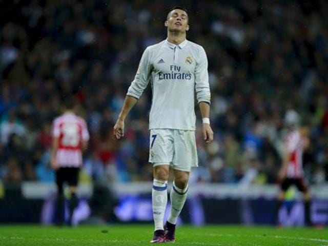 Cristiano Ronaldo's form has not hurt Real Madrid as they sit at the top of the La Liga, one point ahead of Sevilla.
