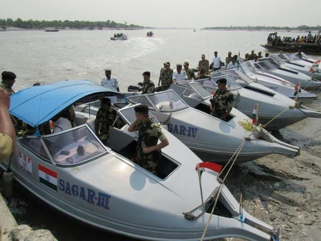 Speed boats are extremely important in maintaining vigil along the Bangladesh-Bengal border, some stretches of which are marked by rivers and the Bay of Bengal with numerous islands dotting the area.