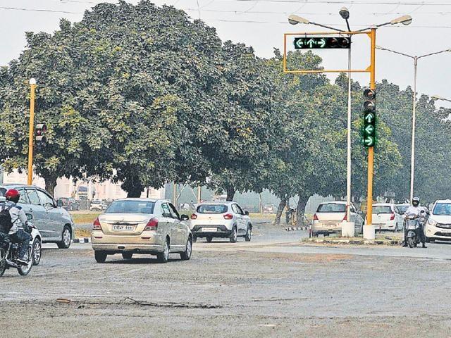 Tricity,Chandigarh,roundabouts