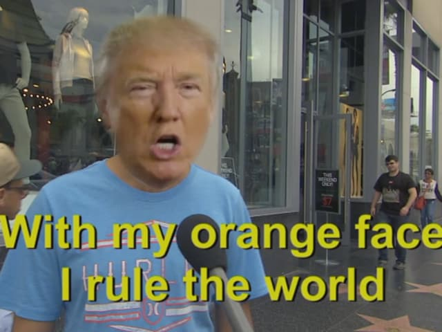 Jimmy Kimmel asks people on the street if they understand Donald Trump's Hindi.