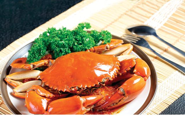 Singapore's chilli crab was the subject of a spat between Singapore and Malaysia