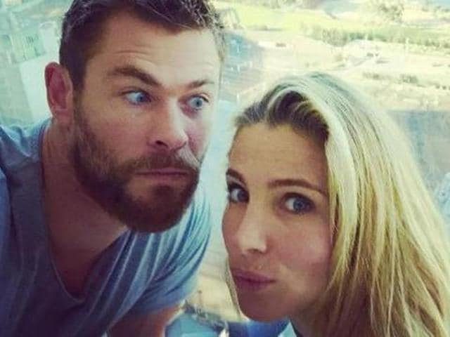 Chris Hemsworth,Elsa Pataky,Chris Hemsworth Wife