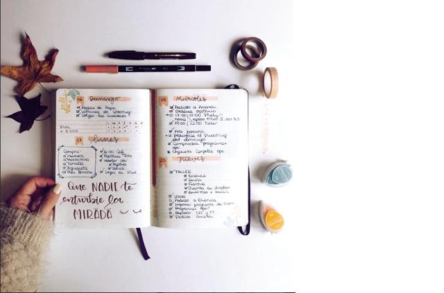 The brainchild of Brooklyn-based designer, Ryder Carroll, a bullet journal is all your post-it and phone reminders, to-do lists, tracking apps and Google calendar rolled into one ninja of an organising technique.