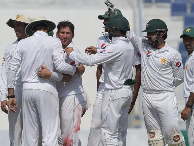 Yasir Shah, who has taken 17 wickets in the series so far, will be the key again in Sharjah.
