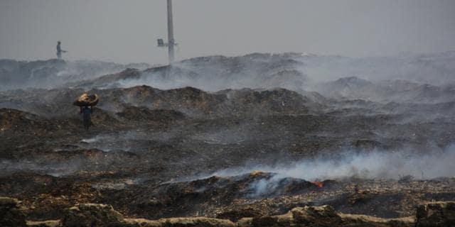 Deonar,Fire,Dumping ground