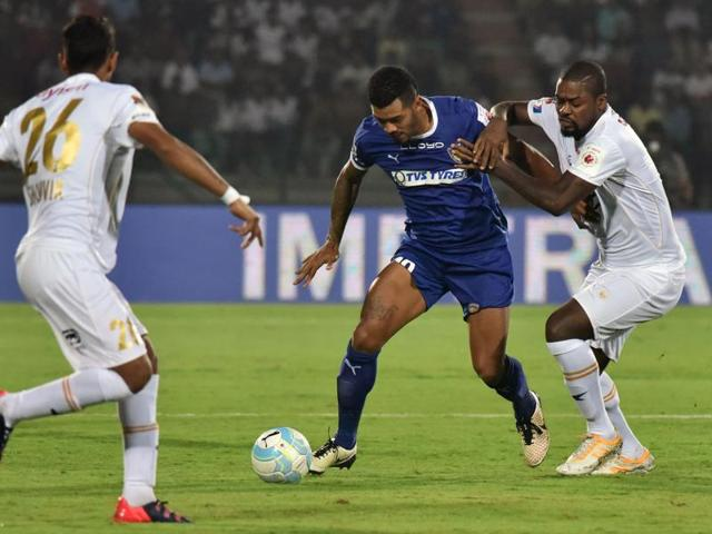 The Marco Materrazi-led side are currently at fourth spot in the league table with eight points from five matches and a win against Kerala will put them on top of the league table.