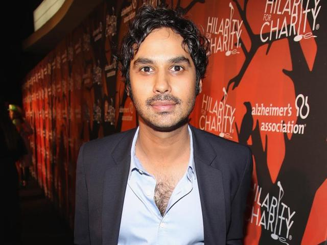 Actor Kunal Nayyar attends Hilarity for Charity's 5th Annual Los Angeles Variety Show: Seth Rogen's Halloween at Hollywood Palladium.