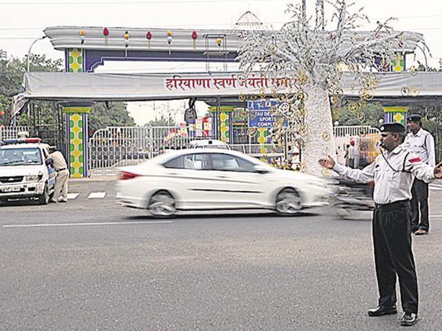 Gurgaon,Modi in Gurgaon,Section 144