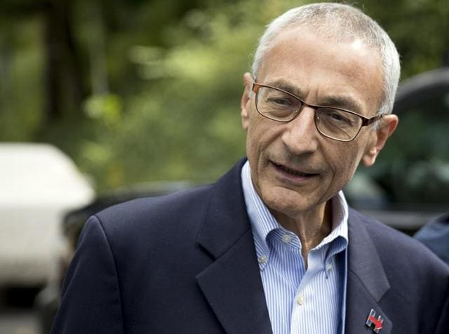 The hackers had on March 19 sent John Podesta an official-looking email that appeared to come from Google. They then got hold of his passwords.
