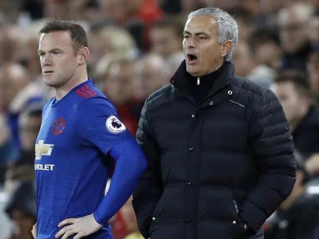 Jose Mourinho,Manchester United,Wayne Rooney