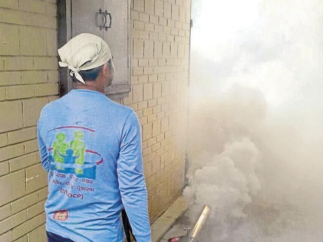 Dengue,Ludhiana residents,fogging drive