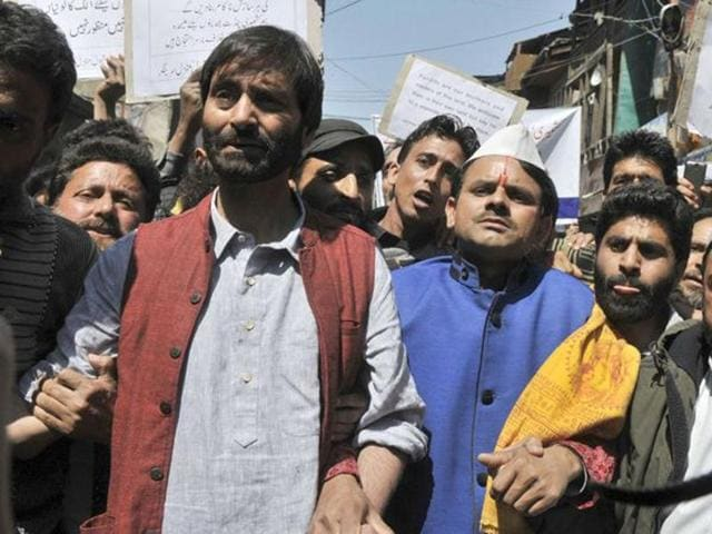 Jammu Kashmir Liberation Front (JKLF) chairman Mohammad Yasin Malik was released from the central jail here on Saturday.