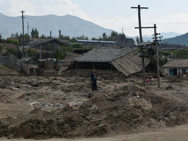 Nearly 70,000 people are estimated to have lost their homes in disastrous flooding in North Hamgyong province in August and September that claimed more than 130 lives.