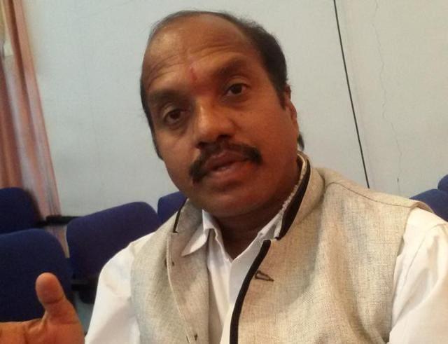 KCR's Vaastu advisor Suddala Sudhakar Teja.