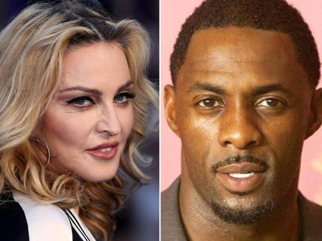 Pop icon Madonna and actor Idris Elba arrived at the party separately, but according to sources, they were inseparable once inside.