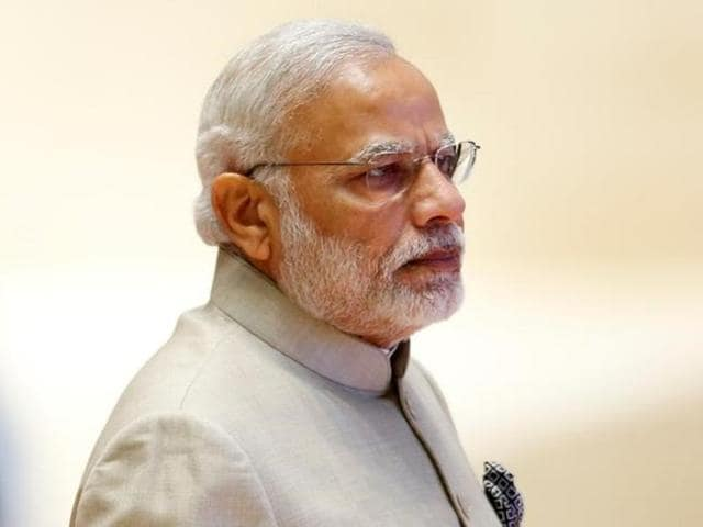 In this September file photo, Prime Minister Narendra Modi can be seen at the ASEAN Summit in Vientiane, Laos.